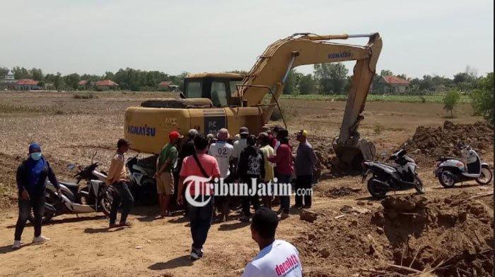 Biaya Pembebasan Lahan Tak Merata, Warga di Sampang Blokade Pembangunan Normalisasi Sungai Kemuning