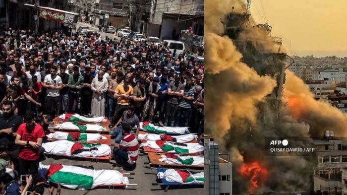 Meledak Serangan Paling Mematikan Israel, Rumah Pentolan Hamas Luluh Lantak, Yahya Sinwar Terbunuh?