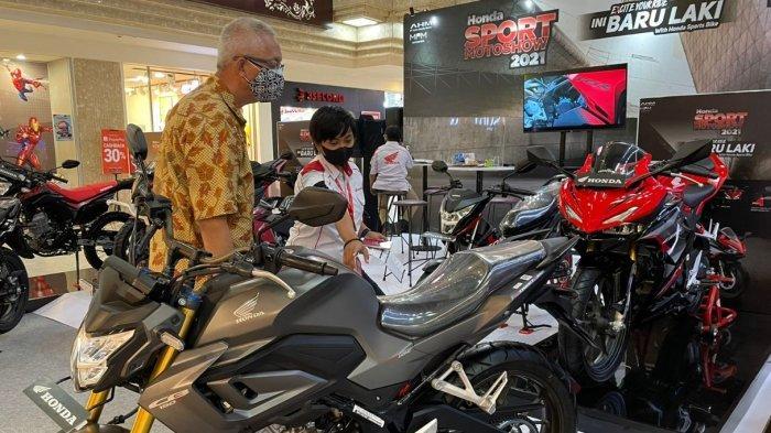 Honda Sport Motoshow Sapa Surabaya, Jajaran Produk Motor Laki Honda Digeber Promo
