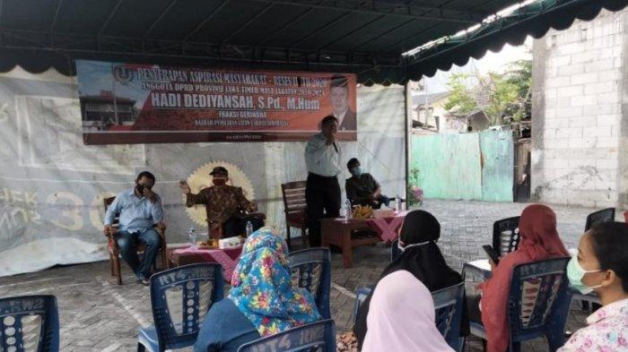 Warga Sukomanunggal Surabaya Wadul Anggota Dewan, Curhat Alami Kesulitan Masuk Sekolah Negeri