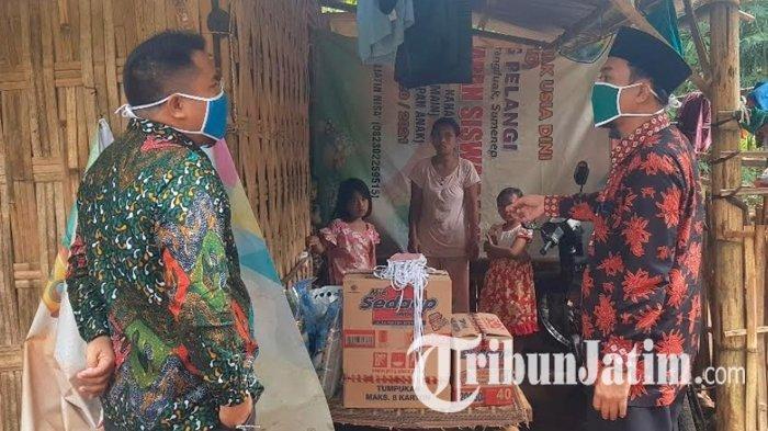 Korban Wabah Covid-19 yang Terusir ke Hutan Bambu Akhirnya Mendapat Bantuan dari Pemkab Sumenep