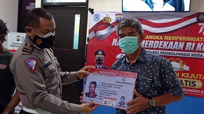 Warga yang Lahir 17 Agustus Dapat Kado Buat SIM Gratis dari Polresta Probolinggo, Ini Syaratnya
