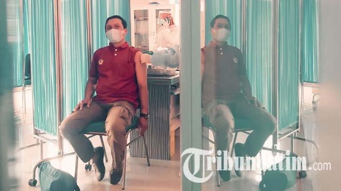 Vaksinasi Covid-19 di Sidoarjo Berlanjut untuk Pedagang Pasar, 16.000 Data Diajukan ke Dinkes