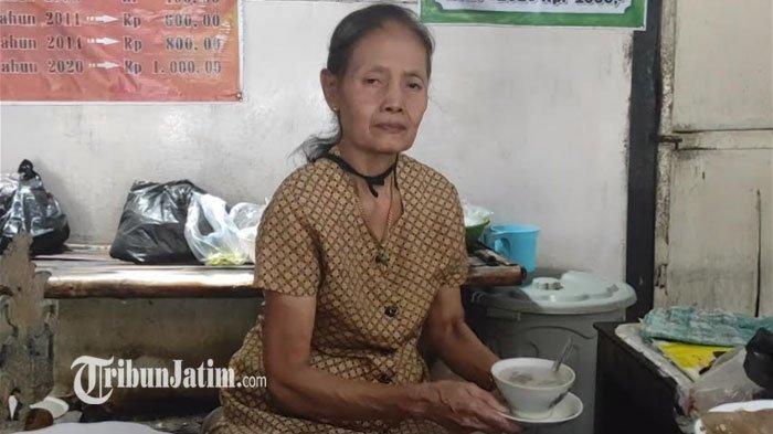 Cerita Bu Matun, Jual Es Dawet Semangkuk Seribu di Ponorogo, 36 Tahun Hanya Tiga Kali Naikkan Harga