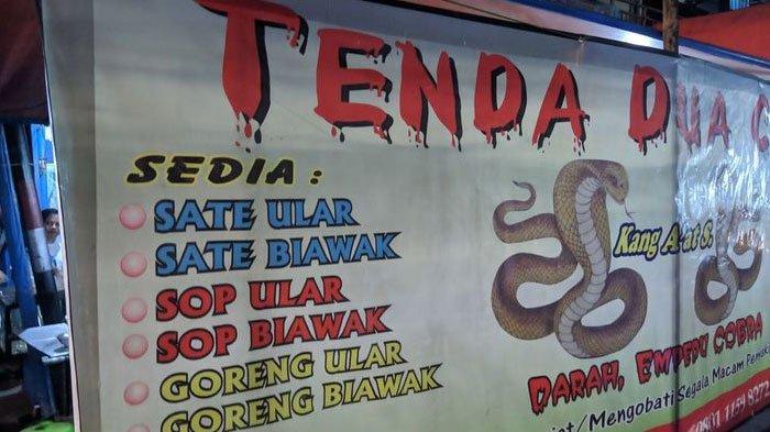 Cerita Pedagang Warung Dua Kobra Ketika Teror Ular Justru Jadi Berkah, Stok Tambahan Berlimpah