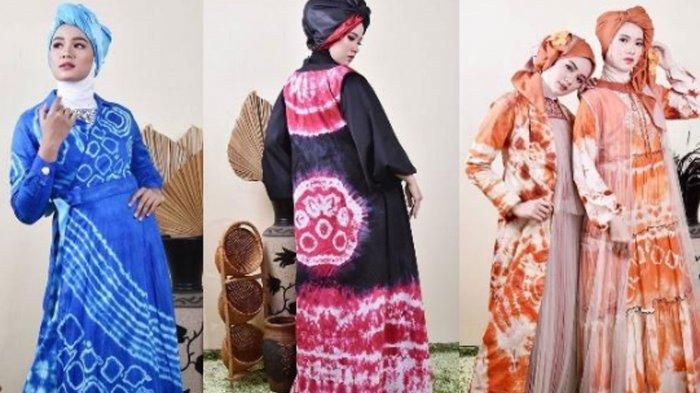 Inspirasi Busana Lebaran 2021: Waves Series Desainer Ulfa Mumtaza, 'Melambai-lambai Saat Dikenakan'