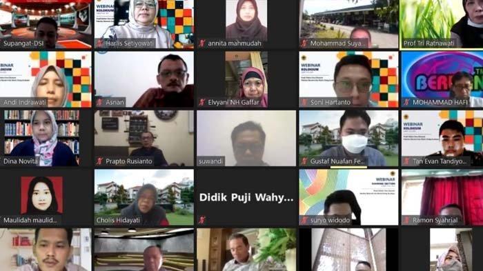 Untag Surabaya Beri Kiat Produktif Menulis Jurnal Melalui Webinar Kolokium