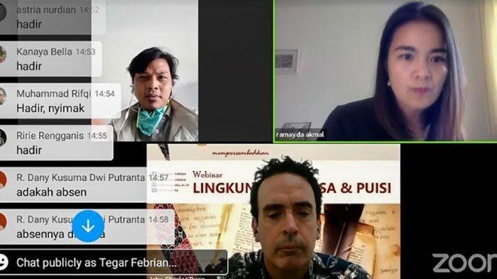 Untag Surabaya Gelar Webinar 'Lingkungan, Prosa, dan Puisi', Covid-19 Bisa Jadi Sumber Kreativitas
