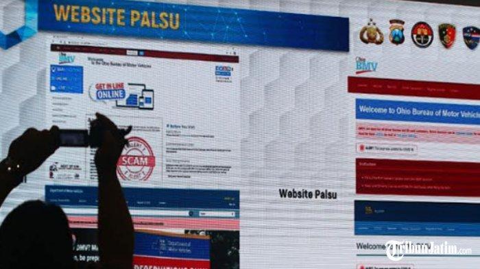 FBI Apresiasi Polda Jatim, Atas Bantuan Penangkapan 2 WNI Diduga Mencuri Data Ribuan Warga AS