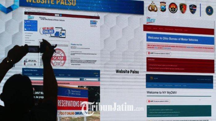 Polisi Buru DPO Kasus Pembuat Website Palsu, Tampung Dana Bantuan Covid-19 Warga Amerika Serikat