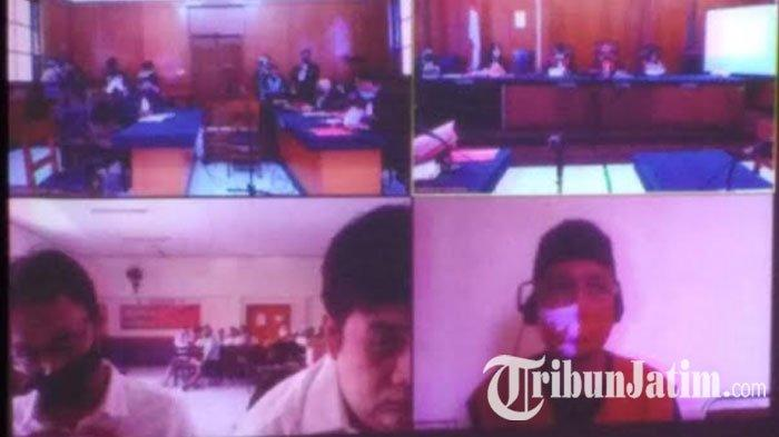 Jual Beli Pil Ekstasi, 2Terdakwa Sindikat Jaringan Lapas Porong dan Madiun Dituntut 9 Tahun Penjara