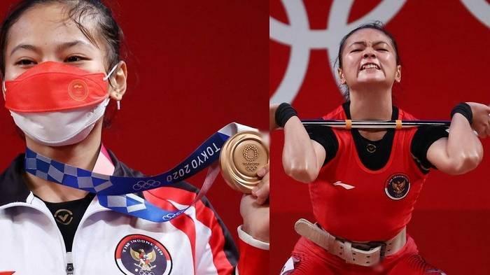 Sosok Windy Cantika Aisah, Atlet Angkat Besi Peraih Medali Perunggu Olimpiade Tokyo, Ikuti Jejak Ibu