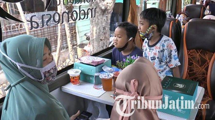 Wisata Keliling Lamongan Sambil Ngopi di Bus Cafe, Murah Meriah Tarifnya, Cuma Rp 25 Ribu Per Orang