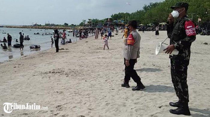 Polres Gresik Tingkatkan Pengawasan Tempat Wisata, Dorong Pengingkatan Disiplin Protokol Kesehatan