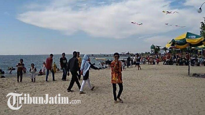 Pantai Dalegan Gresik 'New Normal' Makin Cantik, Terapkan Protokol Kesehatan Ketat Bagi Pengunjung