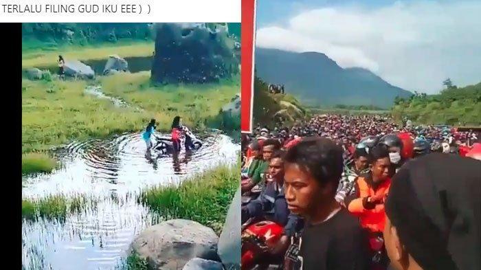 VIRAL Video Ranu Manduro Mojokerto Riuh 'Diserbu' Pengunjung, Wisata 'Feeling Good' Kini Ditutup