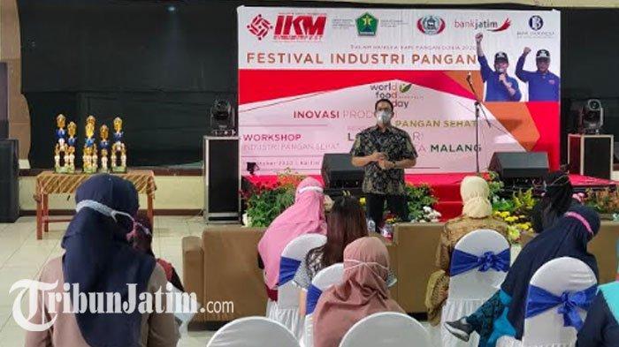 Peringati Hari Pangan Dunia 2020,Diskopindag Kota Malang Angkat IKM dengan Festival Industri Pangan