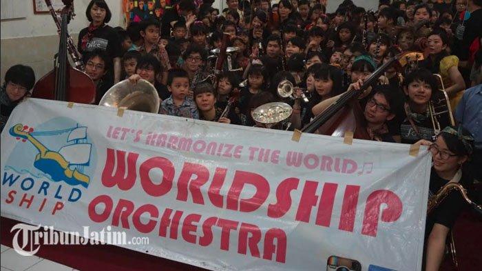 Konser 'Worldship Orchestra Japan' di Surabaya Dibubarkan Polisi?