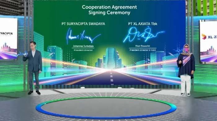 XL Axiata Gandeng PT Suryacipta Swadaya Sediakan Jaringan Fiber Optik di Kawasan Industri