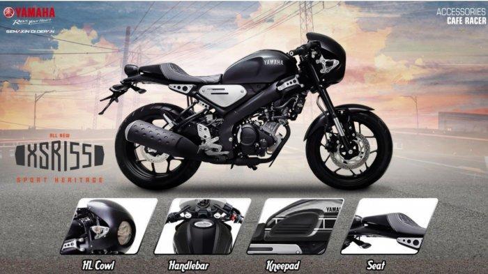 Yamaha Punya Motor Retro Yamaha Xsr 155 Bikin Bingung Orang Yang Mau Custom Motor Tribun Jatim