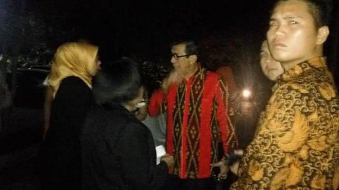 Panik, Saat Menteri Yasonna Turun dari Lantai 12 Hotel via Tangga Darurat Lihat Tembok Sudah Retak
