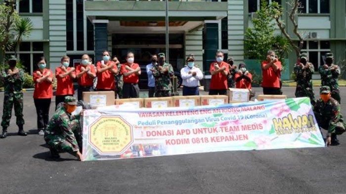 Yayasan Klenteng Eng An Kiong Salurkan Ribuan APD untuk TNI Malang Raya, Dukung Upaya Lawan Covid-19