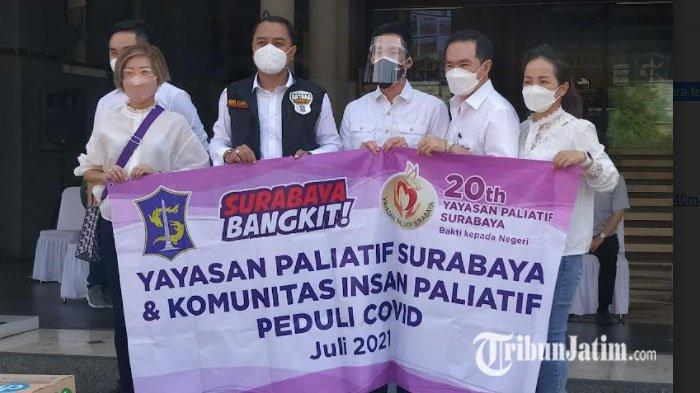 Yayasan Paliatif Surabaya Dukung Penanganan Pandemi, Sumbang 50 Ribu Alat Medis Hingga APD