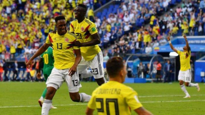 Kolombia vs Inggris - 6 Catatan Penting Kolombia, Rekor Tak Terkalahkan 8 Laga Lawan Timnas Eropa