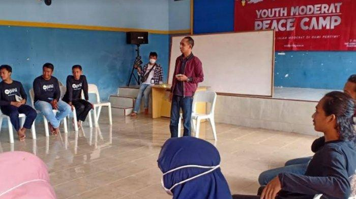 Kegiatan Youth Moderat & Peace Camp DPD IMM Jawa Timur, di Panti Asuhan Muhammadiyah Karangasem, Sabtu-Minggu (27-28/3/2021).