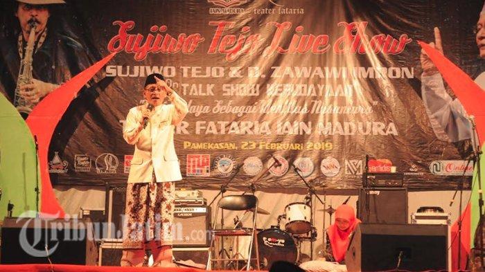 Kumpulan Quote D Zawawi Imron Yang Bikin Peserta Talkshow Kebudayaan Iain Madura Baper Tribun Jatim