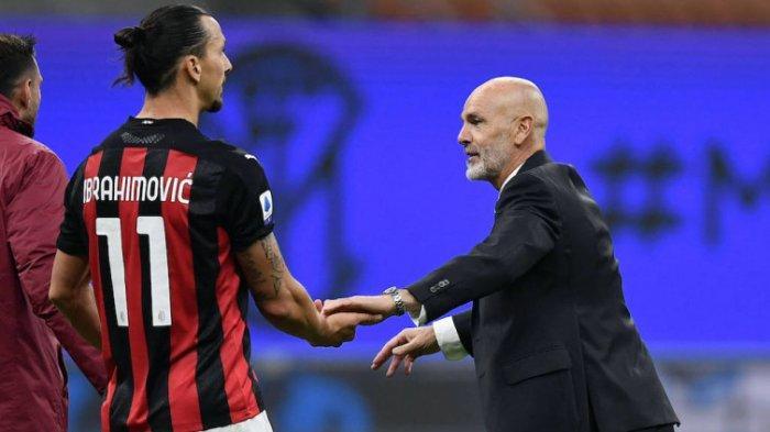 Liverpool Vs AC Milan - Minus Ibrahimovic, Stefano Pioli Siapkan Amunisi Cadangan