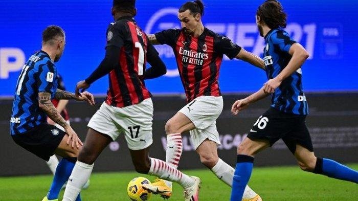 Jadwal Liga Italia - Duel Pemuncak Klasemen Inter Vs Milan, Deby Della Madonnina Malam Ini