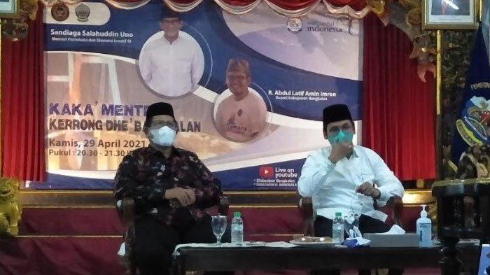 Sandiaga Uno Pastikan Bangkalan Masuk Deliniasi Kawasan Pengembangan Pariwisata Nasional