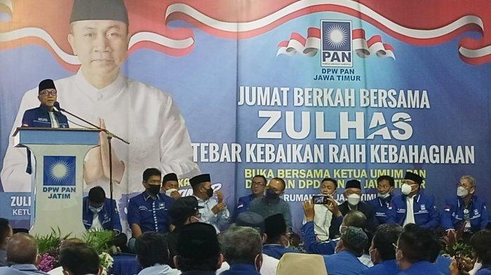 Temui Kader PAN di Jawa Timur, Zulhas Pacu Semangat Kerja Politik