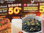 Promo Hanya 14 November 2019 Go Food Diskon 50 Di Warunk Upnormal Dan Bakso Boedjangan Siap Siap Tribun Jatim