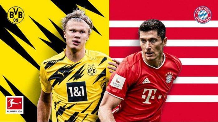 Siaran Live Streaming Mola TV Bayern Munchen vs Borussia Dortmund: Prediksi Line Up Kedua Tim