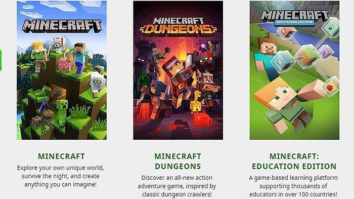 10 Game Minecraft Paling Popular 2021 Gratis Layak Download