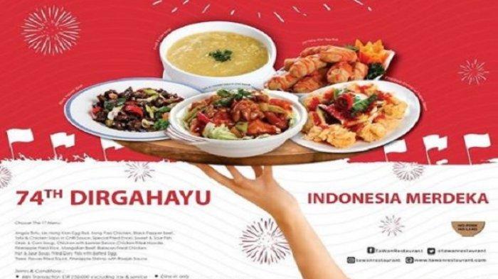 10 Promo Kuliner di Jogja Sambut HUT Kemerdekaan RI, Beli Shihlin Bayar Suka-suka Lho