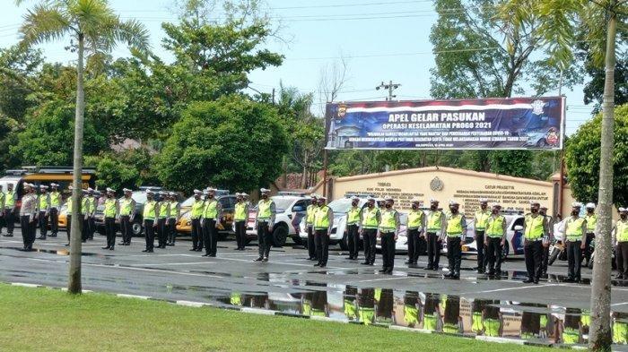 140 Personil Polres Kulon Progo Dikerahkan dalam Operasi Keselamatan Progo 2021