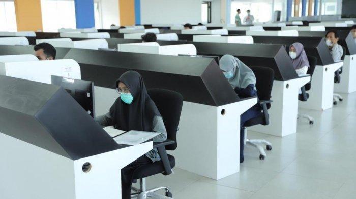11.716 Peserta Ikuti UTBK di UGM, Peserta Disyaratkan Membawa Hasil Pemeriksaan COVID-19