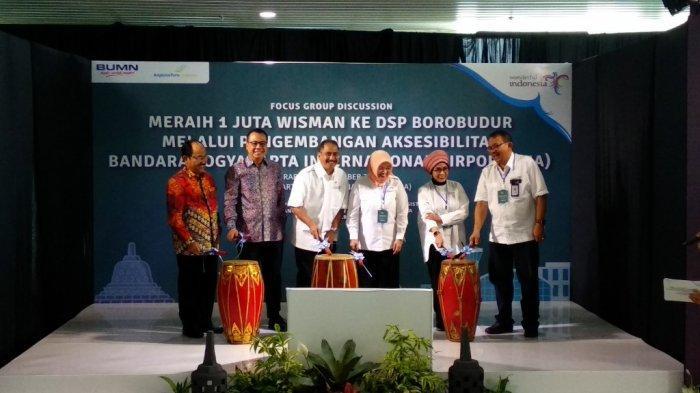2020, Satu Juta Wisman ke Borobudur Lewat YIA