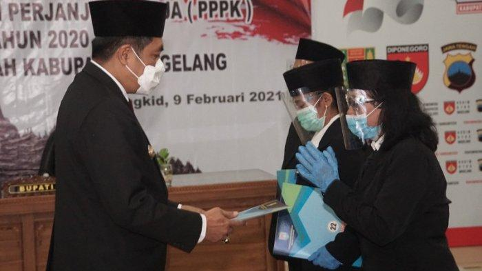 223 PPPK di Lingkungan Pemkab Magelang Terima SK Pengangkatan