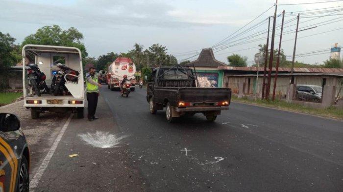 3 Unit Sepeda Motor Terlibat Laka Lantas di Jalan Yogya - Wates Kulon Progo