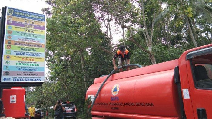 381 Tangki Air Bersih Disalurkan BPBD Klaten ke 5 Desa dari 3 Kecamatan yang Terdampak Kekeringan