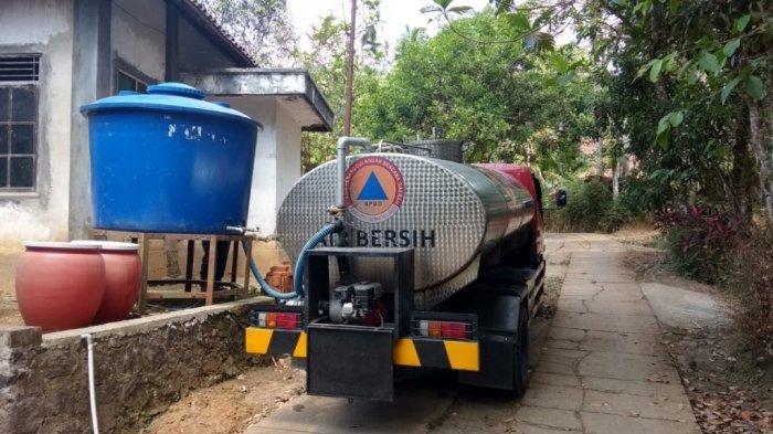 4 Kecamatan Rentan Kekeringan, BPBD Magelang Terus Lakukan Droping Air