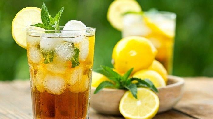 4 Resep Varian Es Teh untuk Buka Puasa, Ada dari Lemon Tea sampai Thai Tea - Tribun Jogja