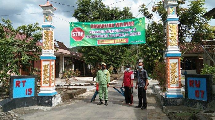 4 Warga Positif COVID, 33 Menunggu Hasil tes, 2 Kampung di Kerten Klaten Lockdown