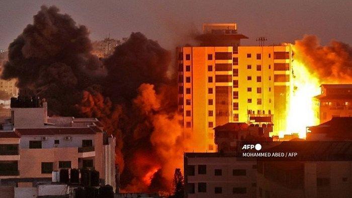 40 Orang Tewas! Pertempuran Udara dan Tembakan Roket antara Hamas dan Israel Meningkat