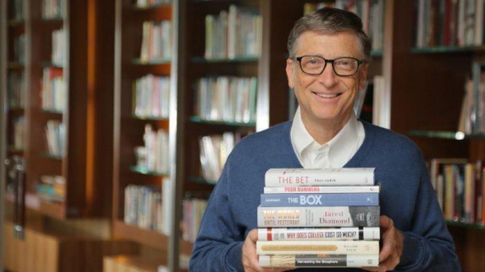 Bill Gates Merekomendasikan 5 Buku Ini untuk Dibaca di Tahun 2020
