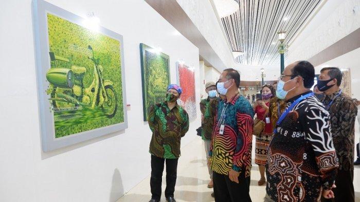 50 Karya Seni Hiasi di Pameran Seni Rupa